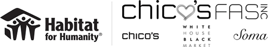 Habitat for Humanity and Chico's Logos